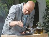Hrubá mořská sůl je podle Pohlreicha na dochucení hotového steaku ideální a dá mu chuťově rozměr navíc.