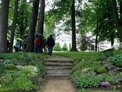 Otevřené zahrady Kinských ve Žďáru nad Sázavou