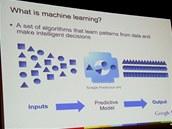 Strojové učení - snaha o uspořádání rozličných vstupů