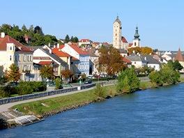 Nábřeží Dunaje vKremsu (Křemži)