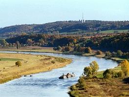 Údolí Labe u Drážďan