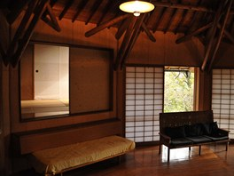 Studio, kde pracoval Antonín Raymond se svými kolegy během letních měsíců.