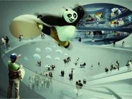 Čínské muzeum komiksu a animace v Chang-čou navrhlo architektonické studio MVRDV.