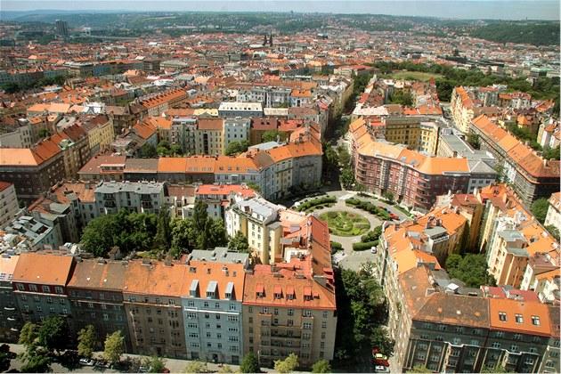 Bydlení v n�kterých �ástech Prahy zlev�uje. Ilustra�ní snímek
