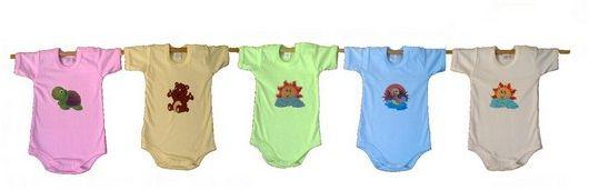 Všechno oblečení pro miminka značky Antony se vyrábí v 6-ti barvách a vy si tak můžete skvěle zkombinovat celou výbavičku.