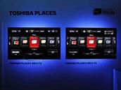 Multimedi�ln� nadstavbe Places u televizor� Toshiba