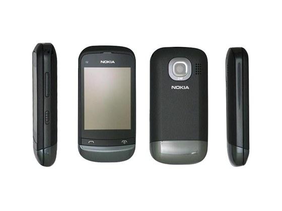 Nokia C2-02 Touch & Type