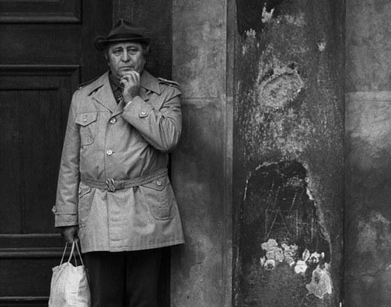 Z normalizačních časů: Staroměstské náměstí, Praha, osmdesátá léta