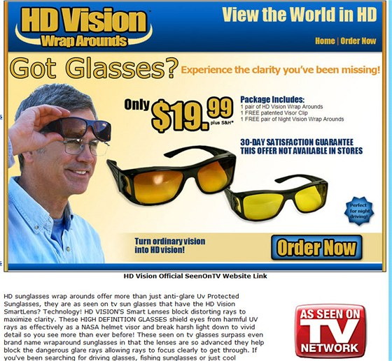 HD brýle - proměňte běžný zrak v HD zrak