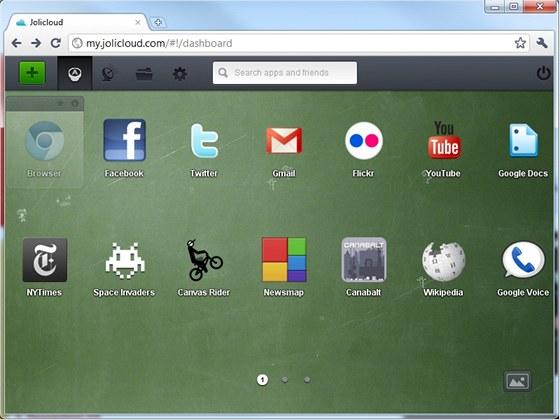 Joli OS je výbornou ukázkou cloudového operačního systému, který kombinuje programy instalované v počítači s internetovými aplikacemi