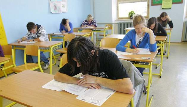 St&#225;tn&#237; maturita na teb&#237;sk&#233;m gymn&#225;ziu