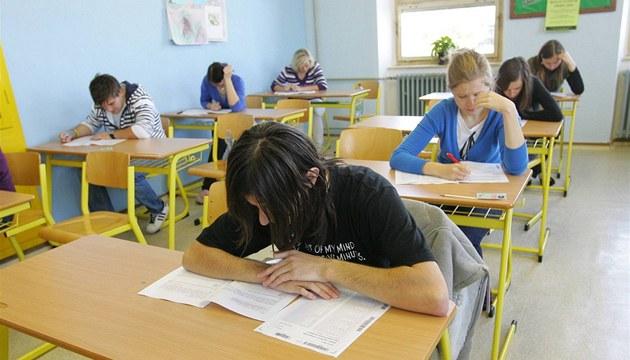 Státní maturita na t�ebí�ském gymnáziu