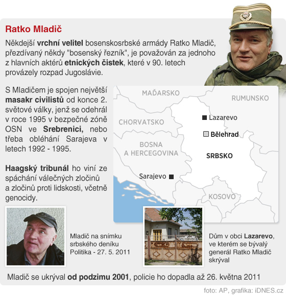 INFOGRAFIKA - Ratko Mladi