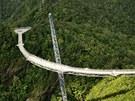 Most Langkawi v malajském Gunung Mat Cincangu