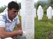 Izudin Ali� u hrobu sv�ho otce (kv�ten 2011)
