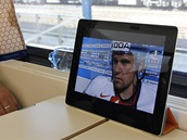 Elgato Tivizen - MS v hokeji ve vlaku v Bratislavě