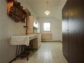Původní menší pokoj, kde měla babička kuchyň.