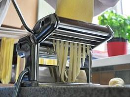 Jednoduchý postup s použitím strojku na nudle