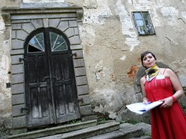 Brány zchátralého brtnického zámku se v sobotu po mnoha letech otevřely návštěvníkům. (4. červen 2011)