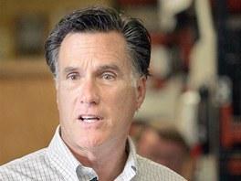 Republikánský kandidát Mitt Romney