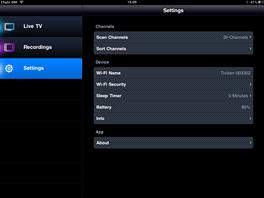 Elgato Tivizen - screenshot - nastavení