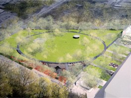 Vítězné návrhy na přeměnu svitovského areálu a parku Komenského