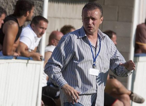 Bývalý ligový fotbalista Marián Řízek trénuje Roudnici nad Labem.