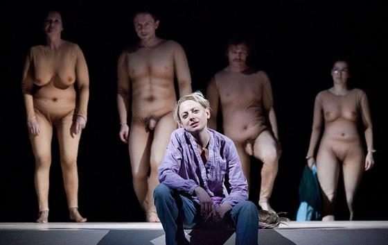 P�ehl�dka Theatertreffen 2001 - Kathrin R�ggla: Z��astn�n� (Die Beteiligten), re�ie Stefan Bachmann