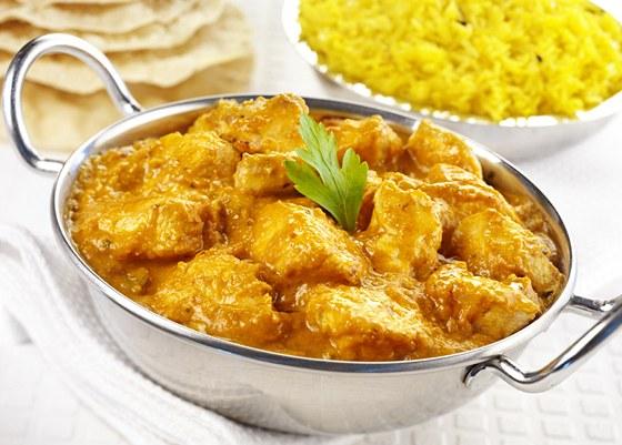 Krůtí curry s kokosovým mlékem a citronem