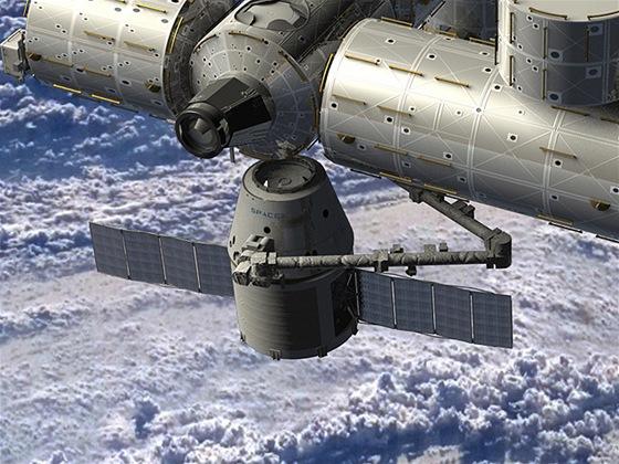 SpaceX Dragon zaparkuje u ISS snad již do konce roku