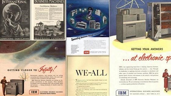 Dobové reklamy IBM