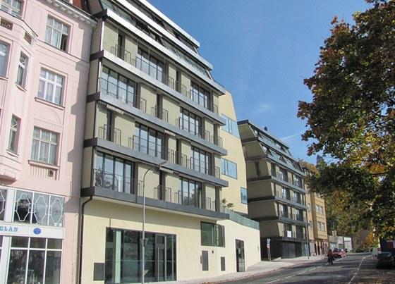 Bytový komplex Triplex v Pražské ulici v Karlových Varech