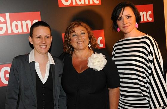 Anamy Pónya, Halina Pawlowská a Markéta Behinová