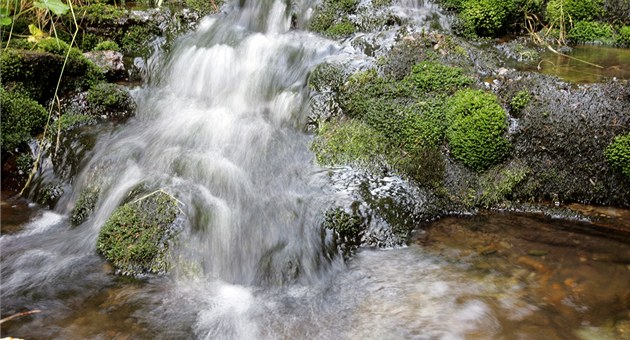 Nau�ná stezka Bílá Opava v Jeseníkách.