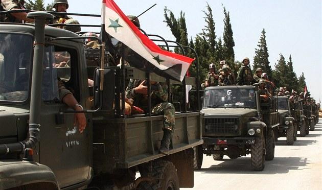 Syr�tí vojáci