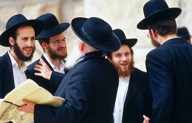 Ortodoxní židé - ilustrační foto
