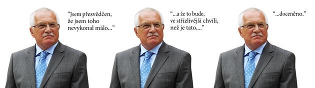 70 perel Václava Klause
