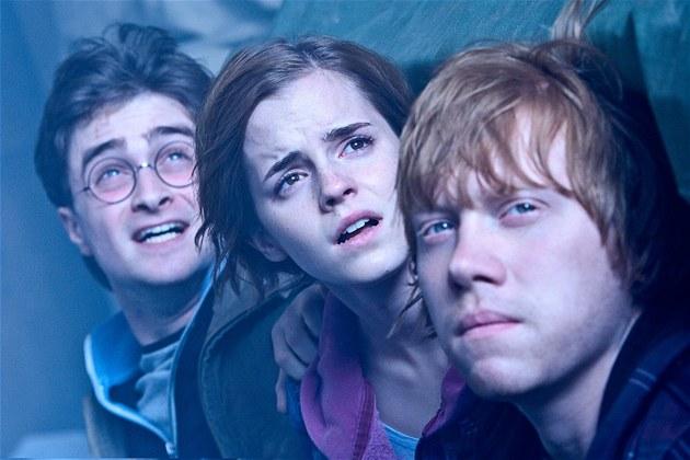 Z filmu Harry Potter a Relikvie smrti - �ást 2