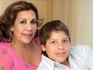 Mildred Baena a nemanželský syn Arnolda Schwarzeneggera Joseph
