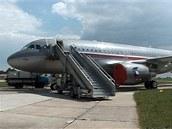 letadlo Václava Klause
