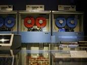 V 50. letech se IBM přeorientovala na magnetická úložiště