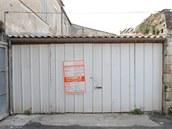 Původní podoba garáže.