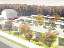 Vizualizace nového komunitního centra v Ostravě.