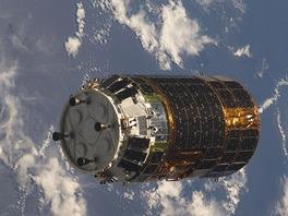 HTV1 v blízkosti ISS