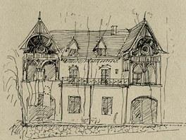 Vila pro civilního adláta (dnes rakouská ambasáda), Sarajevo, Karel Pánek, 1894–1895
