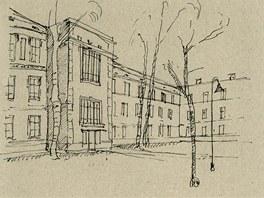 Filipovićevova kasárna, Sarajevo, František Blažek, Karel Pánek (spolupráce), 1898–1899