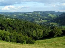 Krajina v okolí Bystřičky