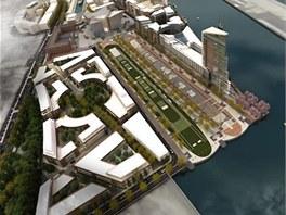 Čtvrť Titanic Quarter by se měla stavět 25 let.