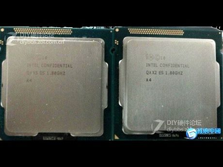 Intel 22 nm technologie, vývojové vzorky