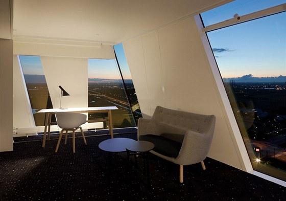 Všech 814 pokojů je zařízeno ve stylu New Nordic Cool.